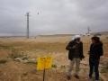 Documenting crops destruction (04.03.2015, al-Baggar)