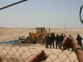 Documenting house demolitions (25.07.2011, al-Aragib)