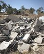 The destruction of the cemetery compound: Al-Arakib June 12 2014