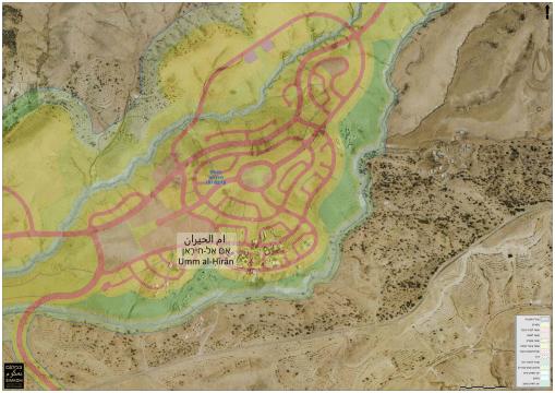 Umm al-Hiran and Hiran Master Plan