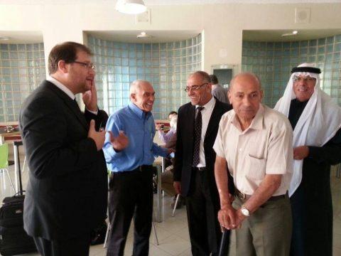 Nuri al-Oqbi and Michael Sfard